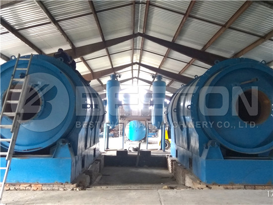 Waste Plastic Pyrolysis Plant in Hungary