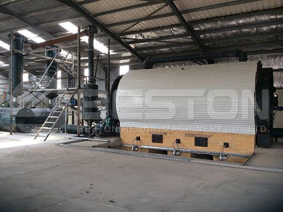 Tyre Recycling Plant in Jordan