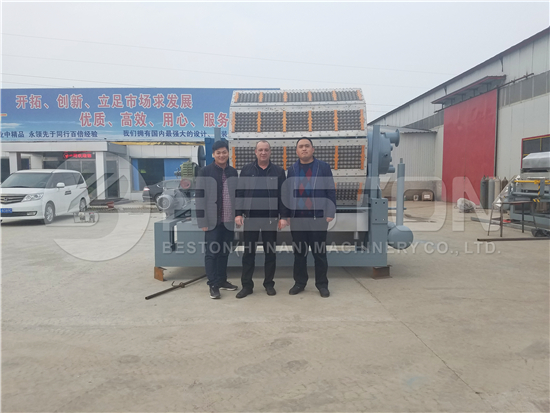 Pulp Molding Machine to Russia