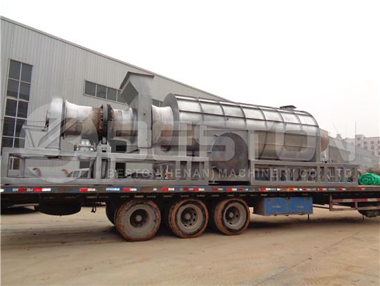 Charcoal Machine to Ghana