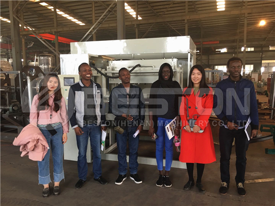 Customers from Mali Visit Beston