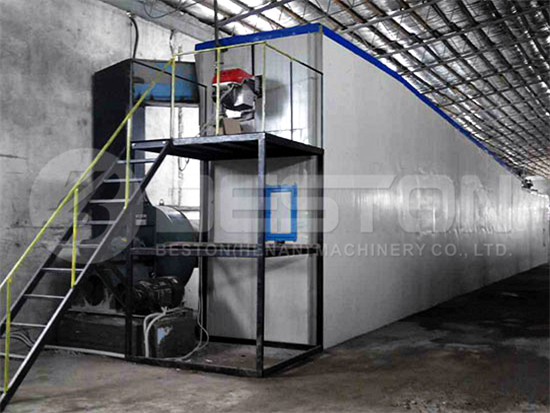 Metal Drying Line of Pulp Molding Machine