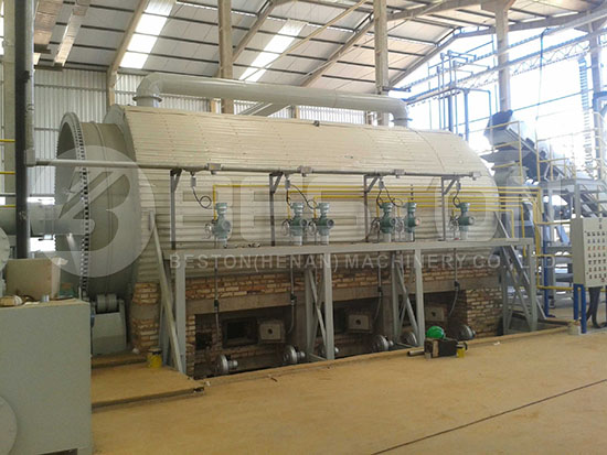 Waste Tyre Recycling Plant in Brazil