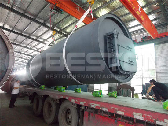 Tire Pyrolysis Machine in South Africa