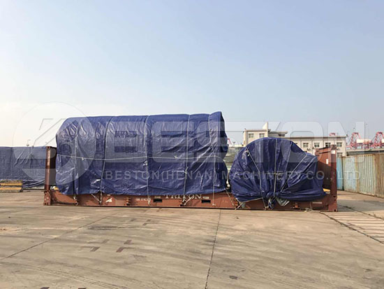 Tyre Pyrolysis Equipment in South Africa