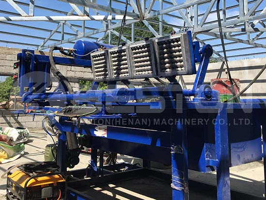 Installation of Egg Tray Machine in the Philippines