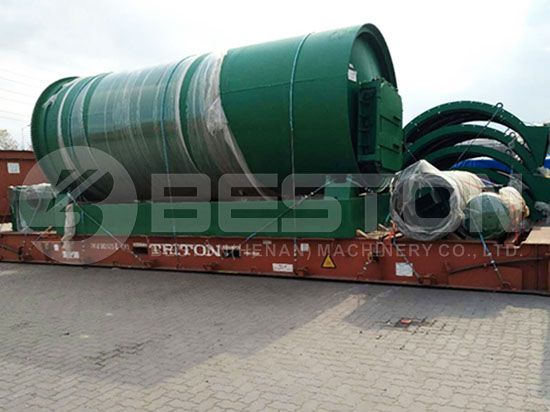 Tyre Pyrolysis Machine to Canada