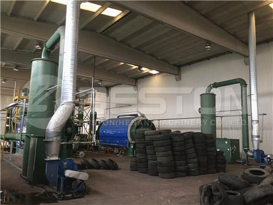 Tyre Pyrolysis Plant Turkey