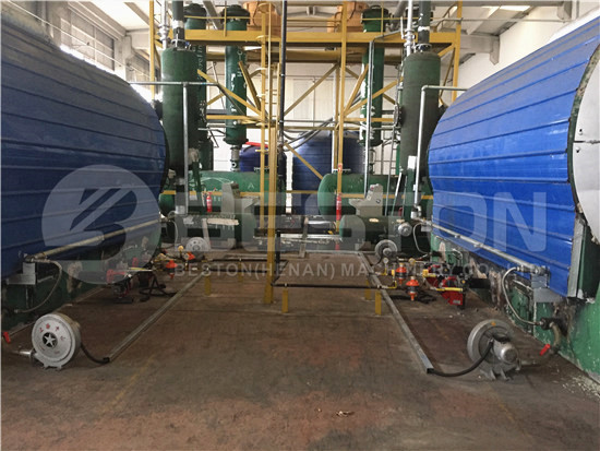 Waste Tyre Pyrolysis Machines in Turkey