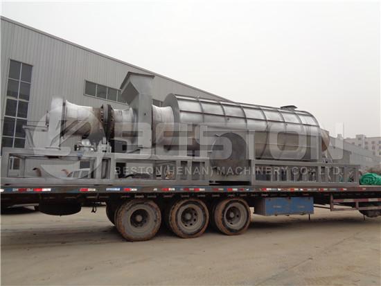 Biochar Machine to Ghana