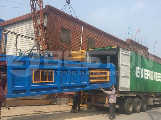 Waste Sorting Machine to Hungary