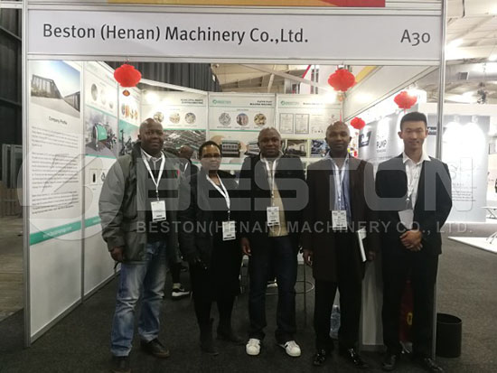 Beston Team on IFAT Africa
