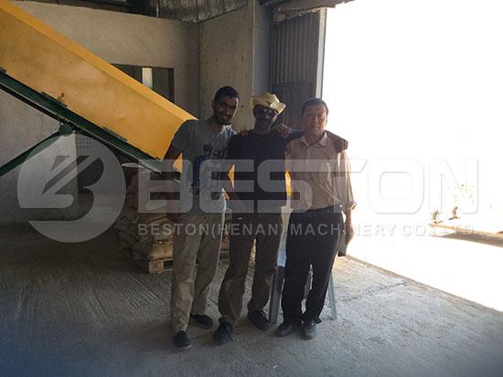 Engineers in Jordan | Tyre Recycling Plant