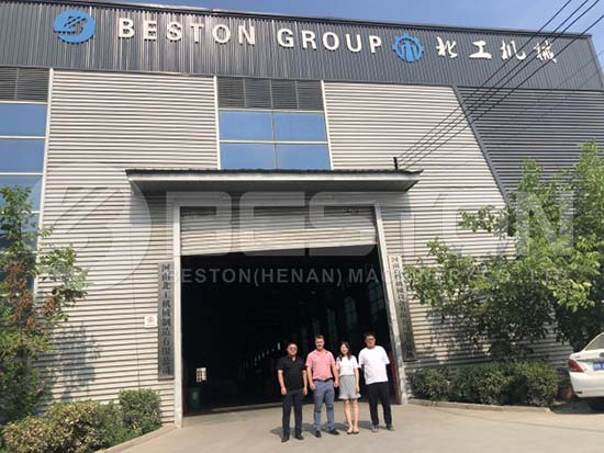 Zimbabwe Customer in Beston Factory