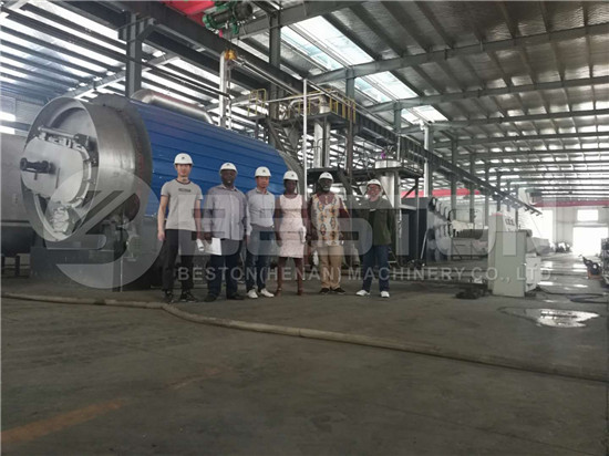 Customers from South Africa in Beston Factory