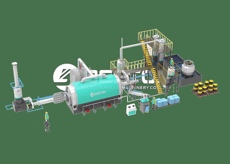 Rubber Pyrolysis Plant Design