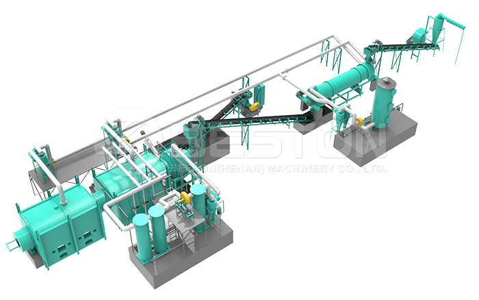 Sawdust Charcoal Making Machine Design