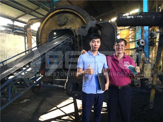 Tire to Oil Plant in Indonesia