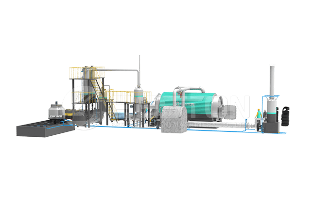 Tyre Recycling Plant Design