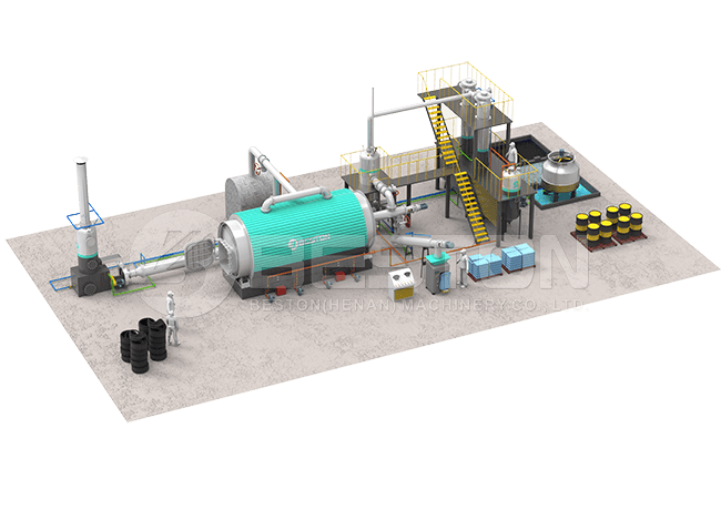 Waste Tyre Pyrolysis Plant Design