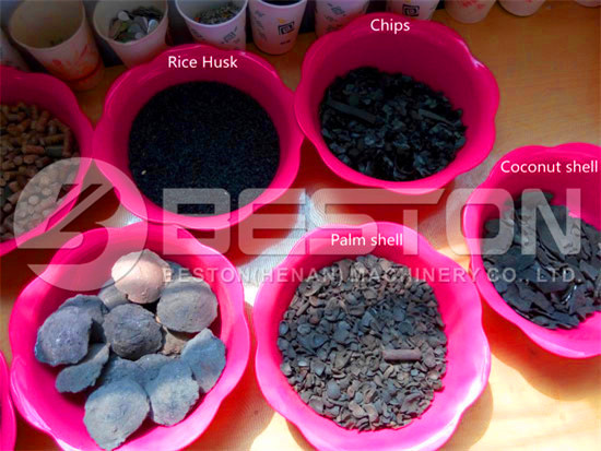 Charcoal from Biomass Pyrolysis Plant