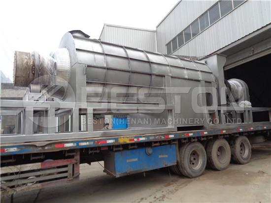 Biomass Pyrolysis Plant to Ghana