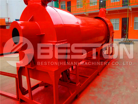 Dryer for Biomass Pyrolysis Plant