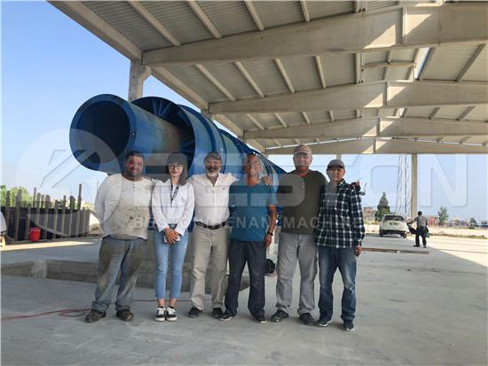 Biomass Pyrolysis Plant Installation in Turkey