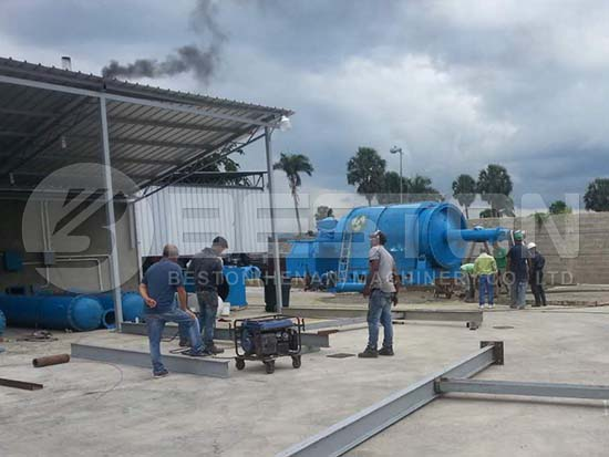 Pyrolysis Plant in Dominica
