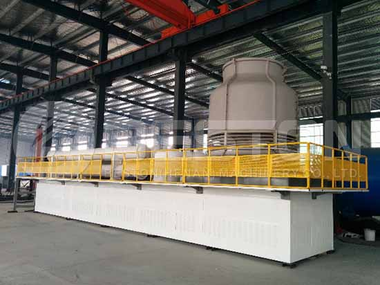 Sample Continuous Pyrolysis Plant