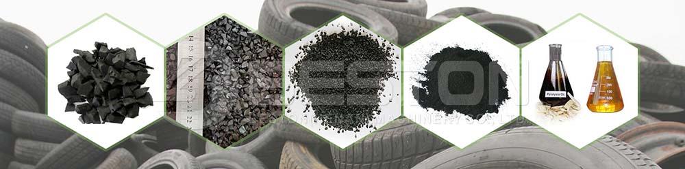 Shredded Tires